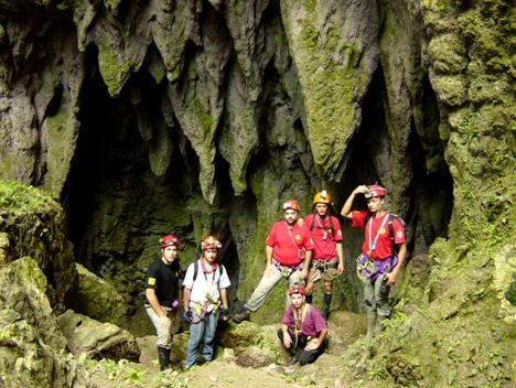 Boca de la Caverna Gran Galeria